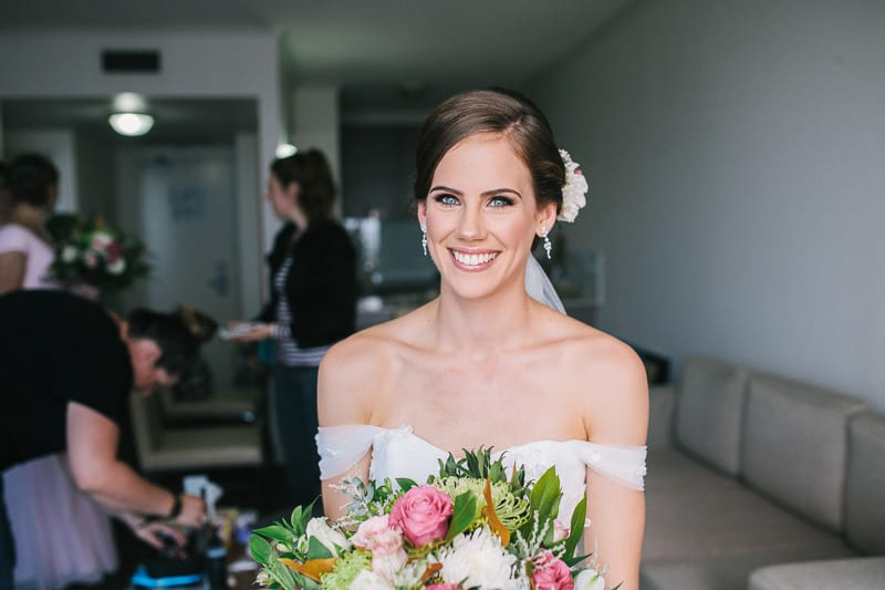 CENTRAL DOCKSIDE APARTMENTS WEDDING BRIDE
