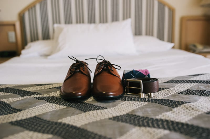 CENTRAL DOCKSIDE APARTMENTS WEDDING GROOM SHOES