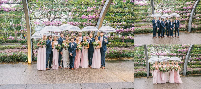 SOUTHBANK BOGANVILIA BRIDAL PARTY WEDDING_