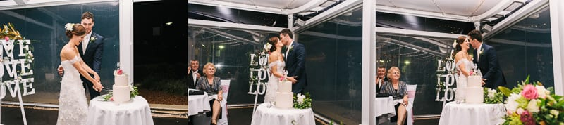 THE LADING DOCKSIDE WEDDING CAKE