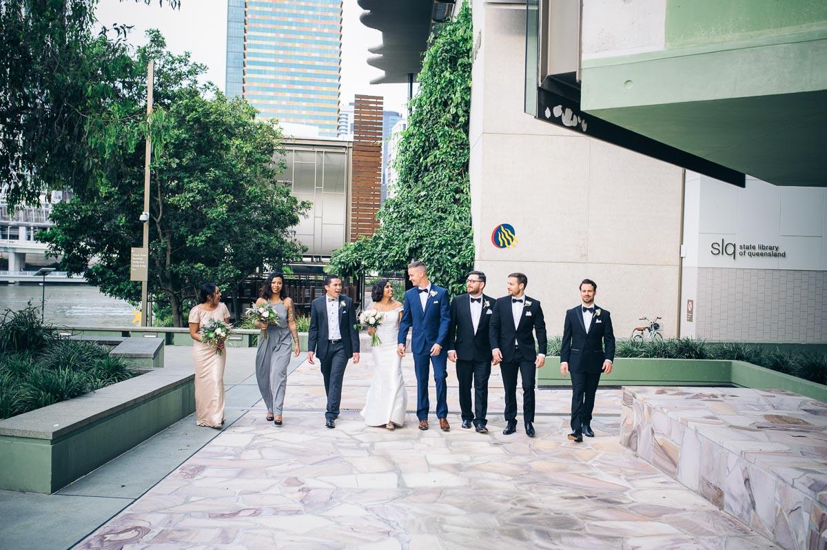 GOMA Brisbane State Library Wedding