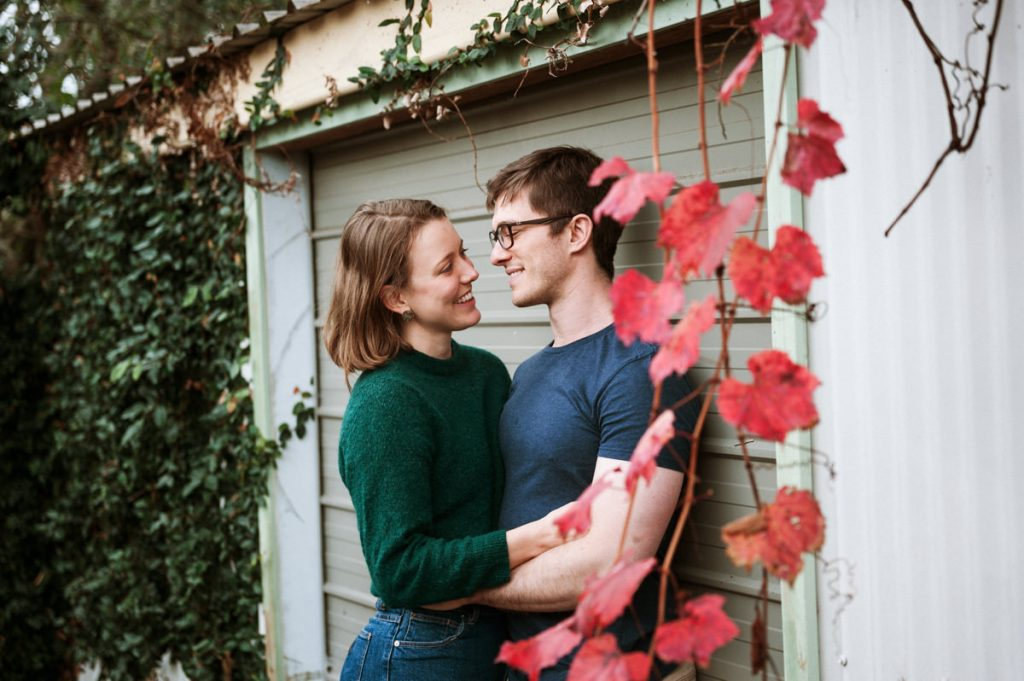 Autumn Couples session Newcastle NSW