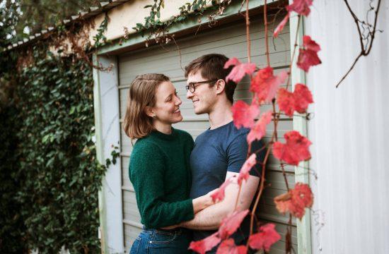 Autumn Couples session Newcastle NSW