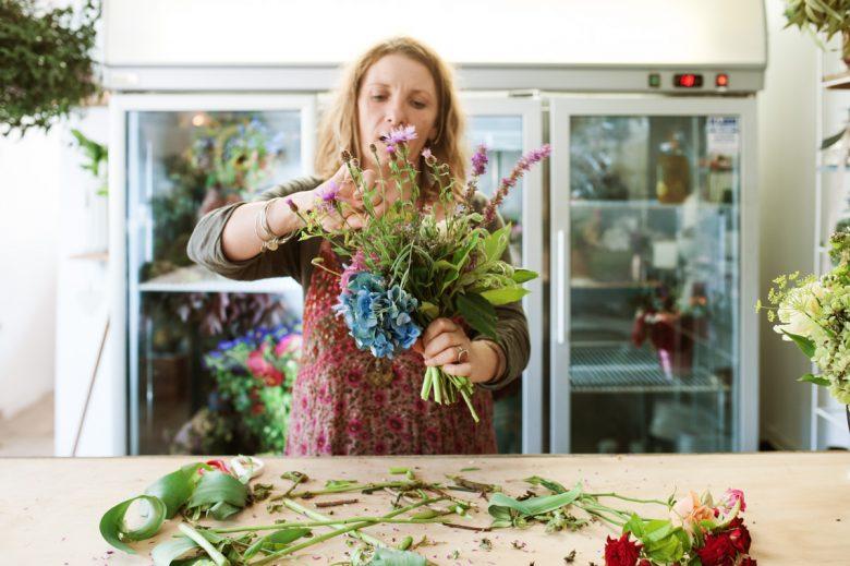 Sunshine Coast Florist Nat Evans