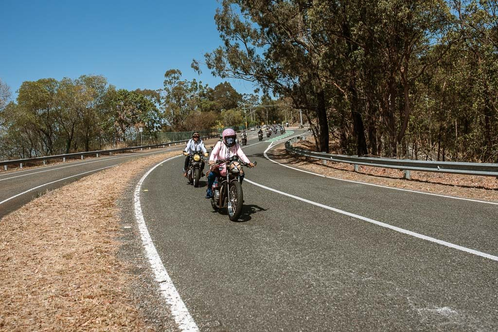 Mt Cootha Distinguished Gentlemen's Ride Brisbane 2019