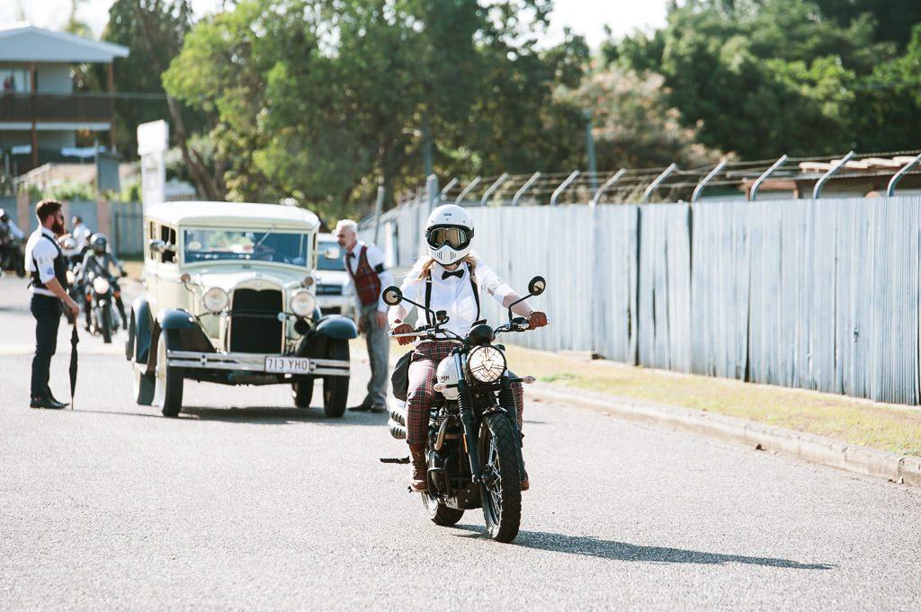 Lady Rider DGR Brisbane Motorbike
