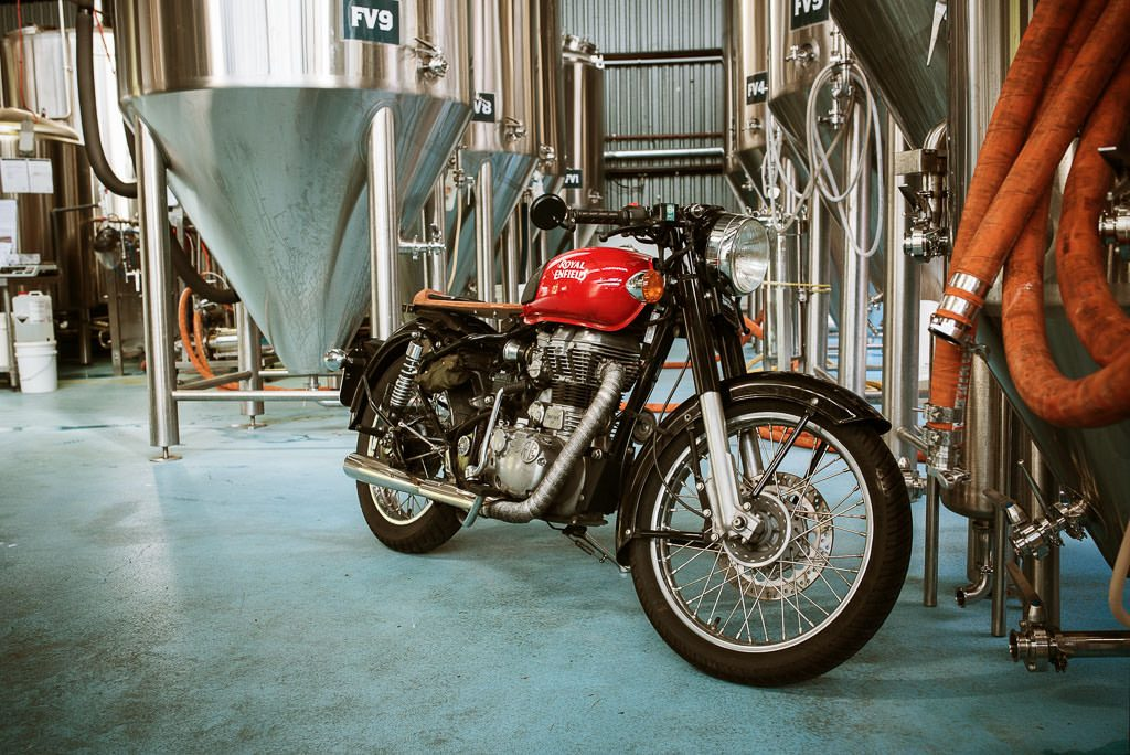 Bike inside Ballistic Beer Co Brisbane DGR 2019