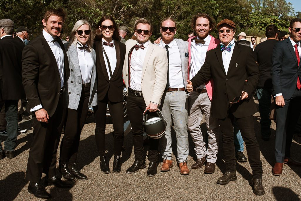 Dapper men Distinguished Gentlemen's Ride Brisbane 2019