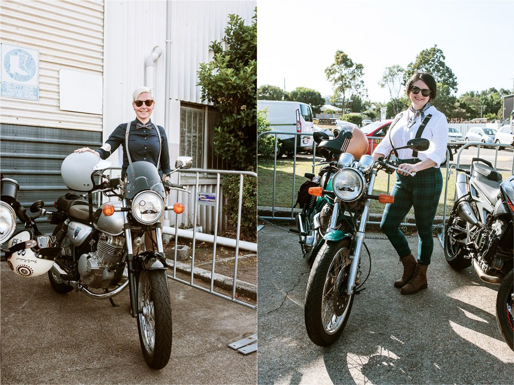 Women Riders at Brisbane Distinguished Gentelman's Ride 2019