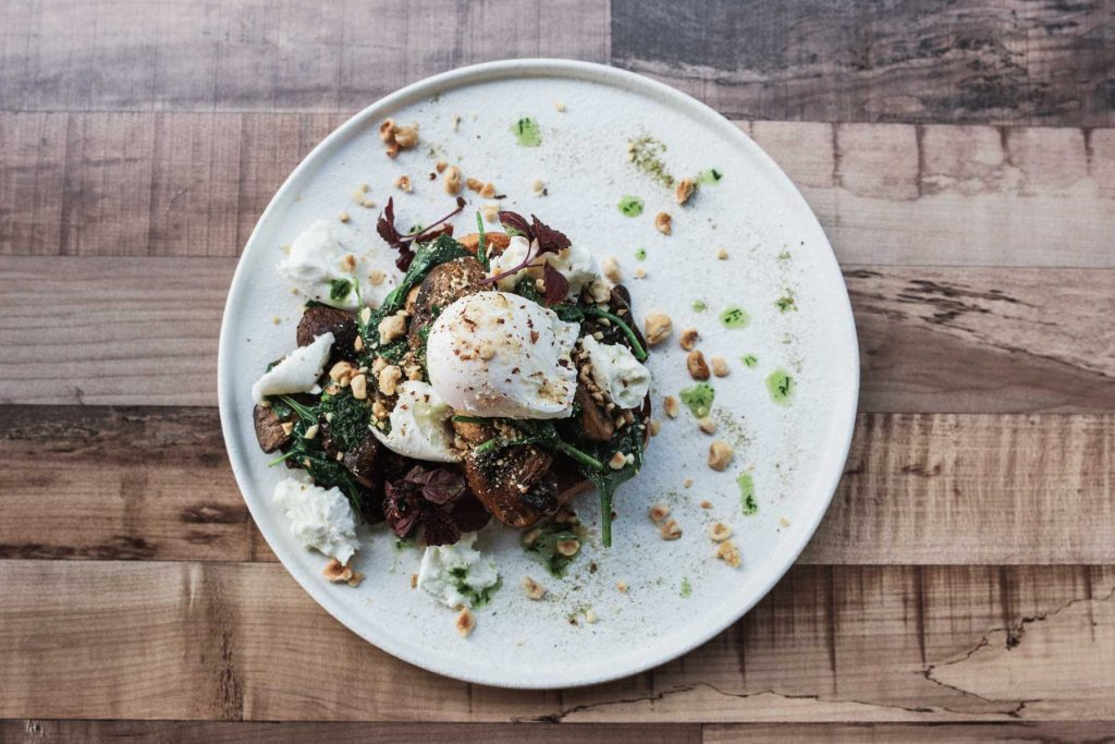 Witchin Kitchen - Sandgate Cafe Terri Hanlon Photography Poached eggs