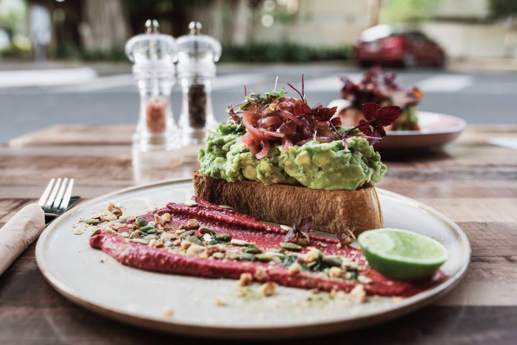 Witchin Kitchen - Sandgate Cafe Terri Hanlon Photography Avo Bacon Toast yum