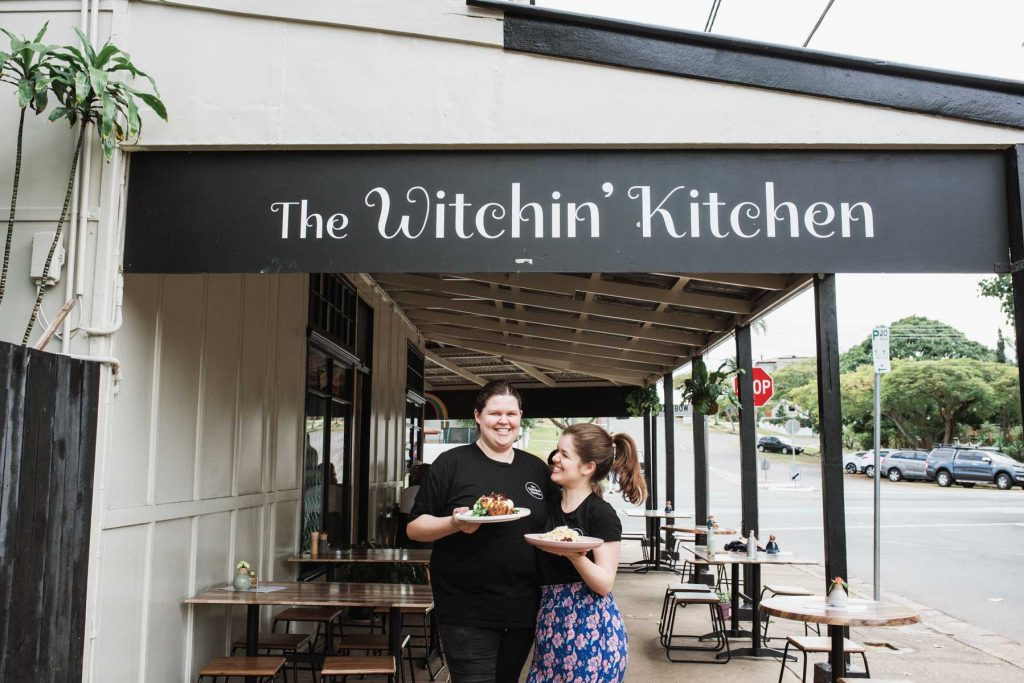 Witchin Kitchen - Sandgate Cafe Terri Hanlon Photography Karlea and Em