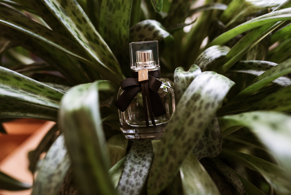 Terri Hanlon Photography - Perfume displayed in accomodation The Space Between Maleny