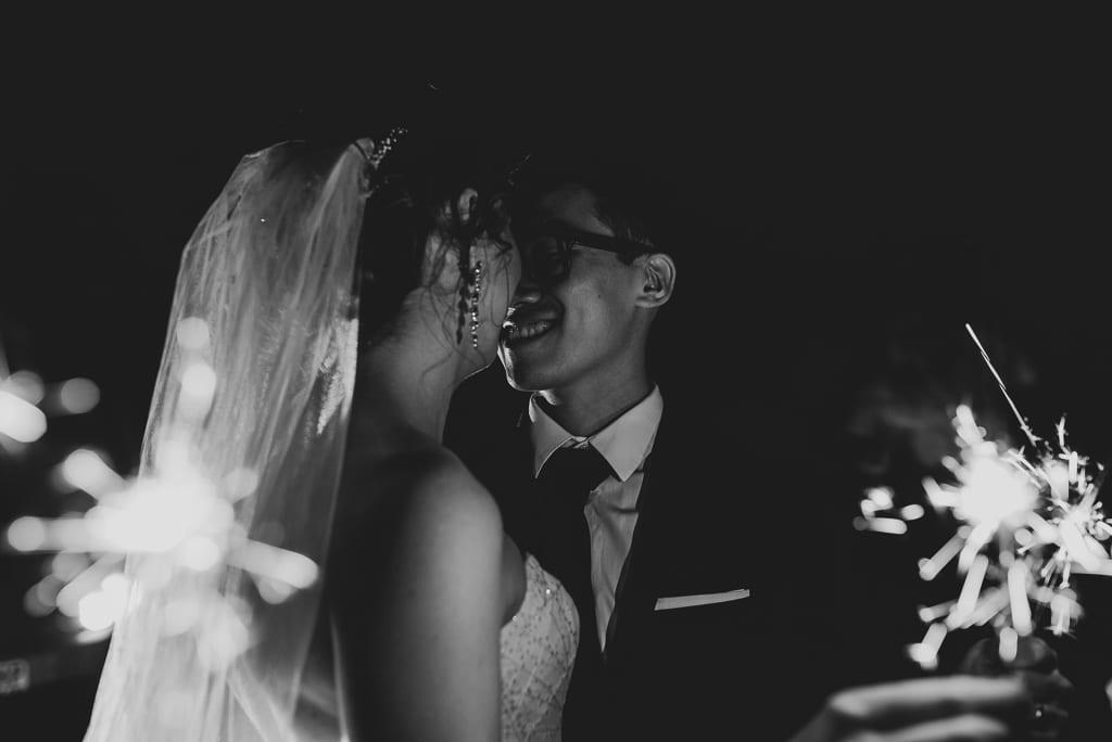 Terri Hanlon Photography - Couple with sparklers