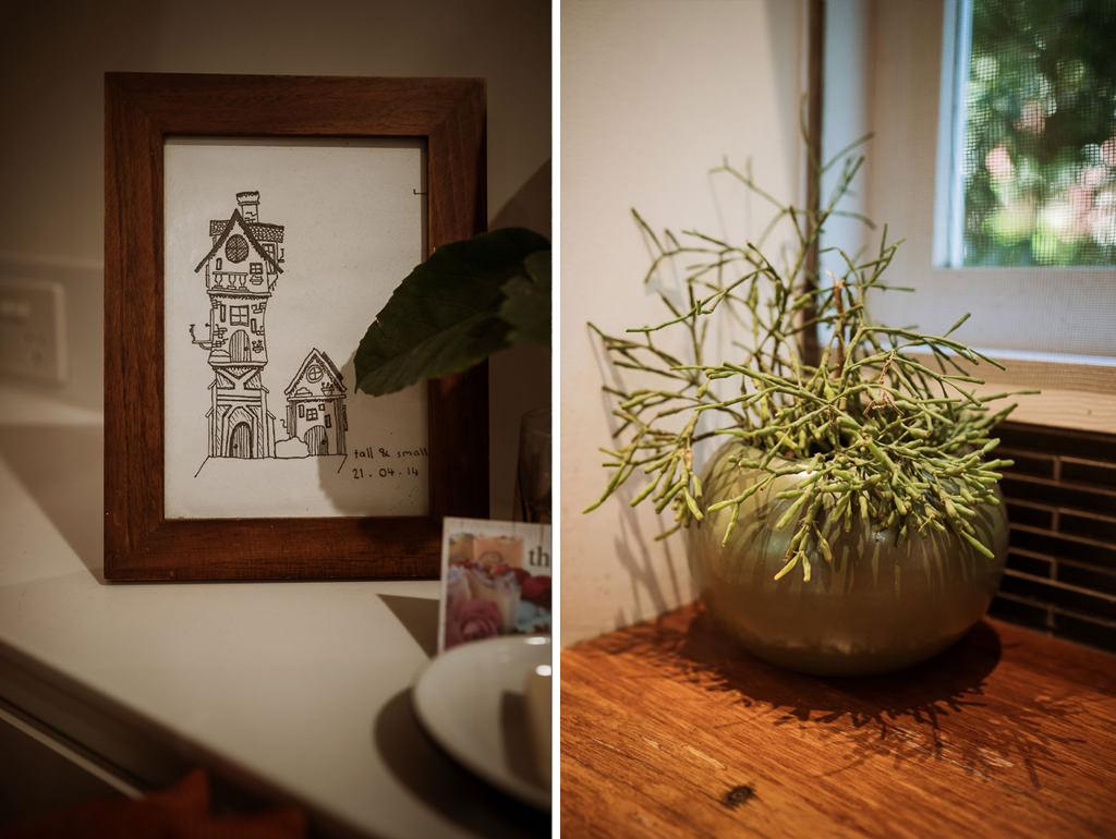 Photos inside the Maleny Tiny House