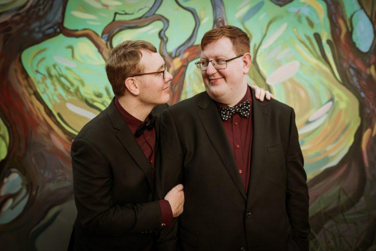 Same-sex Wedding portraits Brisbane City